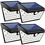 Lamparas Solares GRDE 28 LED Ultra Brillante Luz Solar con Waterproof IP65 y Lux...