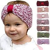 Huihong 8 PC Baby stricken Baby Kinder Mädchen Haarband Phtography Requisiten
