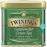 Twinings Tè Sfusi - Gunpowder - Tè Verde Proveniente da Indonesia e Cina Provincia di Zhejiang - Carattere Leggero - Sapore R