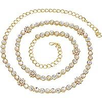 I Jewels Traditional Gold Plated Kundan & Stone Studded Kamarband for Women B003W