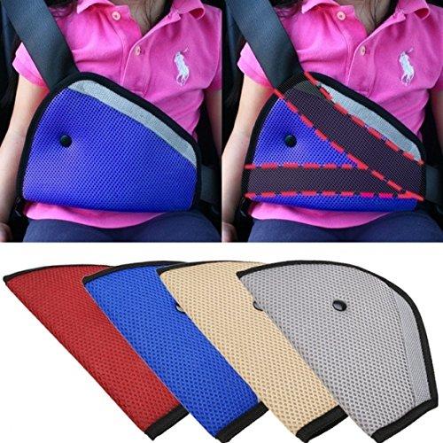 Eximtrade Auto Kinder Kleinkind Sicherheitsgurt Sicherheit Kabelbaum Gurt Stellungsregler (Blau)