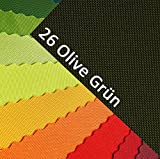 OXFORD 600D Farbe 26| Olive Grün Polyester Stoff 1 lfm