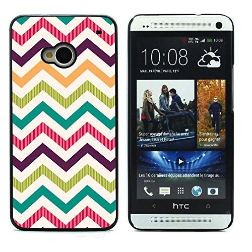 Graphic4You GOLD BRUSH TEXTURES Muster Harte Hülle Case Tasche Schutzhülle für HTC One (M7) Design #3