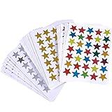 TOYMYTOY 30 feuilles mérite récompenses étoiles autocollants coloré étoiles autocollants pour enfants Motivation