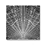 artboxONE Galerie-Print 30x30 cm Hangar hochwertiges Acrylglas auf Alu-Dibond Bild - Wandbild von Jan Heine
