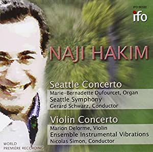 Seattle Concerto For Organ And Orchestra, Violin Concerto