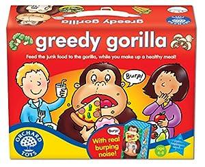 Orchard Toys Greedy Gorilla - Juego de mesa con ilustraciones (en inglés)