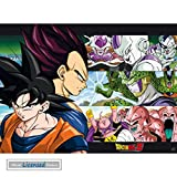1art1® Dragonball Z - Son Goku & Ennemis Póster Mini (52 x 38cm)