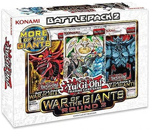 Yugioh War of the Giants Battle - Pack 2 - Battle Round 2 [Toy] 623f18