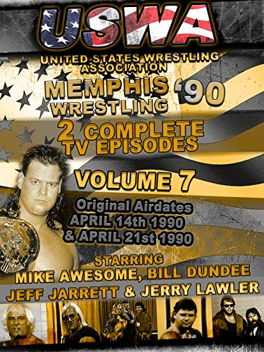 USWA Memphis Wrestling 2 TV Episodes 1990 Vol 7 [OV]