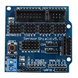Haljia Sensor Shield v5.0scheda di espansione per Arduino UNO Mega R3MEGA2560Duemilanove Nano robot v5.0expansion Module