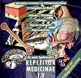 Repetitor medicinae 1.0 Interaktiver Lerntrainer zur Prüfungsvorbereitung. 12 Fachgebiete der Medizin. Anatomie, Physiologie, Pathologie, Klinische Fachbegriffe, Diagnosemethoden. 9 Fachgebiete der Inneren Medizin, Dermatologie