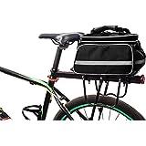 HONPHIER Bike Panniers Bag Waterproof Bike Bag Large Capacity 25L Bicycle Panniers Rear Seat Rack Bag with Rainproof Cover &