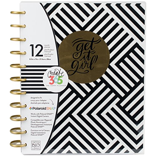 "me & my BIG ideas, ""Create 365 The Big Happy Planner"", agenda mensile (lingua italiana non garantita), Carta, Multi-Colour, 29.2 x 25.8 x 3.4 cm"