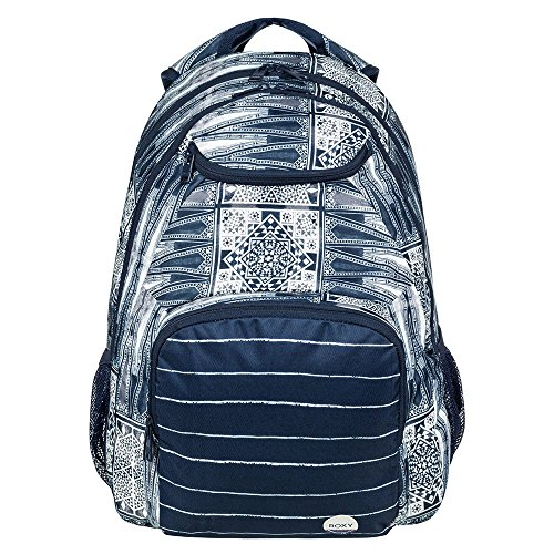 Roxy Shadow Swell Mochila tipo casual, 40 cm, 24 litros, Dress Blues