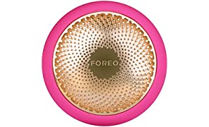 FOREO UFO Smart Mask Treatment Device |Fuchsia| Face Mask in Just 90 Seconds | Latest Beauty Tech combining Advanced Facial Mask Treatment with Thermo/Cryo/LED Light Therapy and Sonic Pulsation, Bluetooth & Dedicated Smartphone App