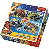 "Trefl 34267 ""Blaze and His Friends"" 4-in-1 Puzzle"