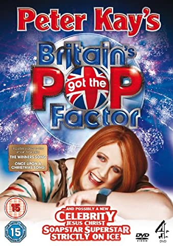 Peter Kay's Britain's Got The Pop Factor... and Possibly a new Celebrity Jesus Christ Soapstar Superstar Strictly on Ice. [UK