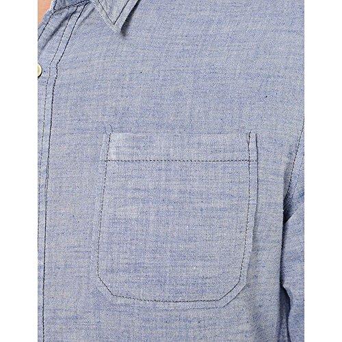 Le Temps des Cerises -  Camicia Casual  - Uomo Blu