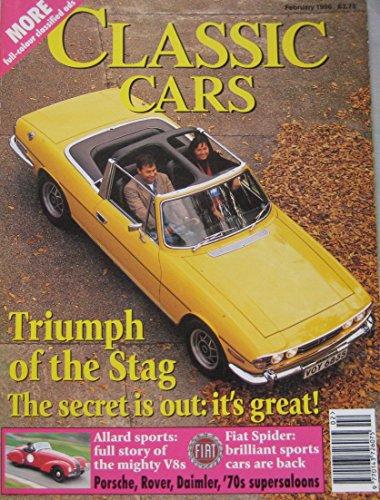 classic-cars-magazine-02-1996-featuring-allard-aston-martin-triumph-stag-de-tomasobmw