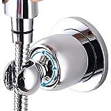 Soporte de ducha, ventosa ajustable en ángulo, soporte para ducha, soporte para ducha ajustable a 360°, soporte para ducha ex