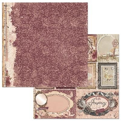 Bo Bunny Papier-Blütenblätter, gemustert, 25Stück -