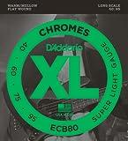 D\'Addario Cordes pour basse D\'Addario ECB80, Light, 40-95, cordes longues