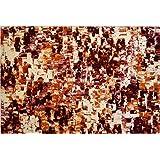 Sitap infinity Alfombra, algodón 66%/Acrílico 22%/poliéster 12%, Gris, 133 x 195 x 2 cm
