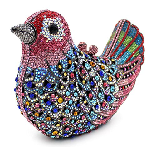 XYXM Pochette signora di fascia alta borse cena di lusso diamanti uccello pacchetto vestito sacchetto personalizzato diamante , color 9 color 1