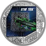 Power Coin BORG Star Trek 1 Oz Silber Münze 20$ Canada 2017