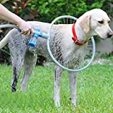 Pet Dog Washer 360 Degree Dog Washer Adjustable Clean Canine Ring-Shaped All-Around Woof