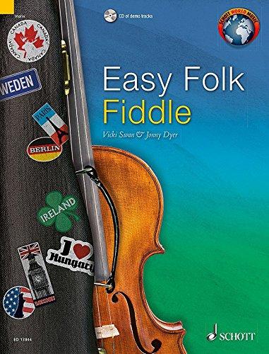 Easy Folk Fiddle +CD (52 pièces faciles traditionnelles) - Violon