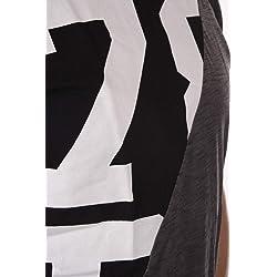 Diesel Hombre T Joe NH Camiseta M Negro