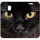 b2ctelecom dh8j317Schutzhülle für Samsung Galaxy J32017Motiv Katze schwarz