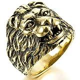 Best Aooaz Friends Unisex Rings - Aooaz Ring for Men Women Gold Lion Head Review