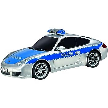 Carrera RC - 370162092 - Voiture Radiocommandé - Polizei Porsche 911