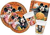 Ciao y4305–Kit Party in Tisch Mickey Maus Halloween, Orange/Schwarz