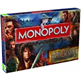 The Hobbit Winning Moves Desolation of Smaug Monopoly Board Game