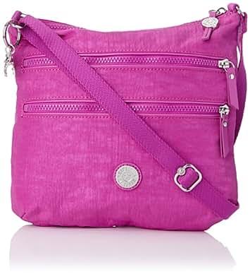 Kipling Armande,  Sacs bandoulière mode femme  - Rose (Pink Dust)