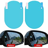 Universal Car Accessories Waterproof Anti Fog Film Rainproof Anti-Water Film Rear-View Mirror Film (OVAL)