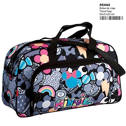 Montichelvo Montichelvo Travel Bag Mn Patch Schulranzen, 55 cm, Mehrfarbig (Multicolour) - Multi-color Patch