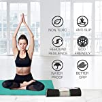 ROMEE Anti Skid Gym/Exercise/Yoga Mat for Men & Women with Cover Bag