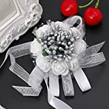 Rawuin 1pezzi bella polso corpetto bracciale damigella d' onore sorelle mano fiori festa di nozze 15
