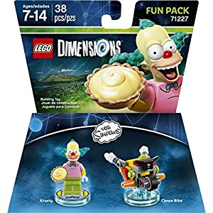 LEGO Dimensions, Simpsons Krusty Fun Pack by Warner Home Video – Games