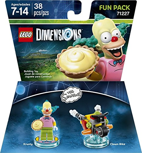 LEGO Dimensions, Simpsons Krusty Fun Pack by Warner Home Video - Games (Ps3 Simpsons Game)