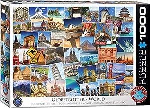 Eurographics 6000-0751 - Puzzle (1000 Piezas), diseño de World Globetrotter