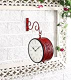Brass Plated Double Side Red Vintage Sta...