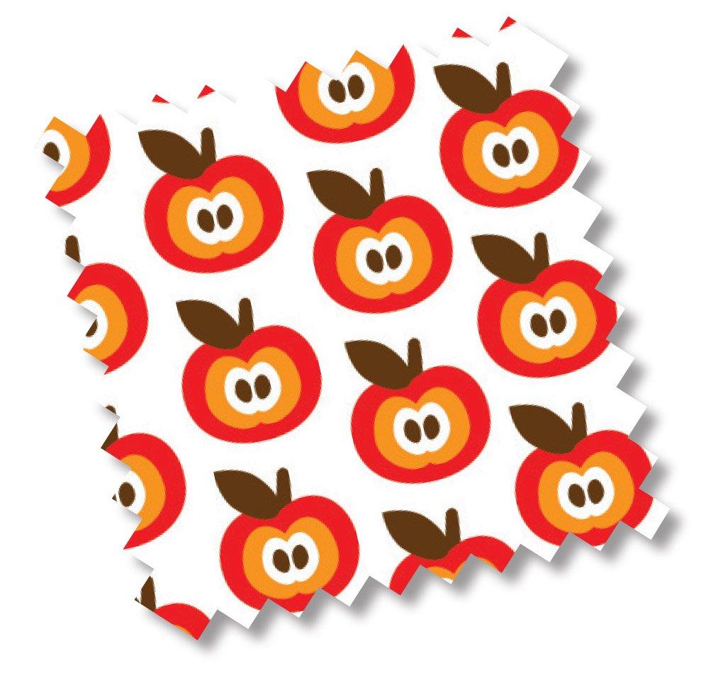 Millemarille 5317�Housse de rechange Matelas � langer FUNKY Apples