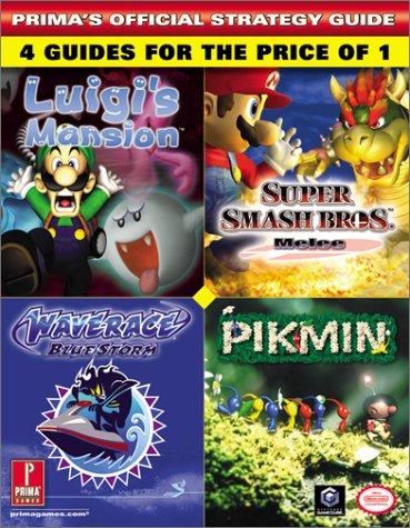 Prima's Official Strategy Guide: Luigi's Mansion/Super Smash Bros. Mele/Wave Race Blue Storm/Pikmin por Temp Authors Prima