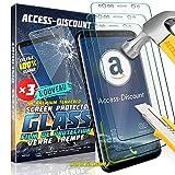LiveMobile Access-Discount LOT de 3 Pack X3 HUAWEI MATE 10 LITE - Film En VERRE trempe vitre durci Solide pour Ecran sur mesure adapté & dédié HUAWEI MATE 10 LITE
